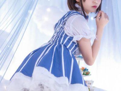 水手服cosplay,清纯可爱性感